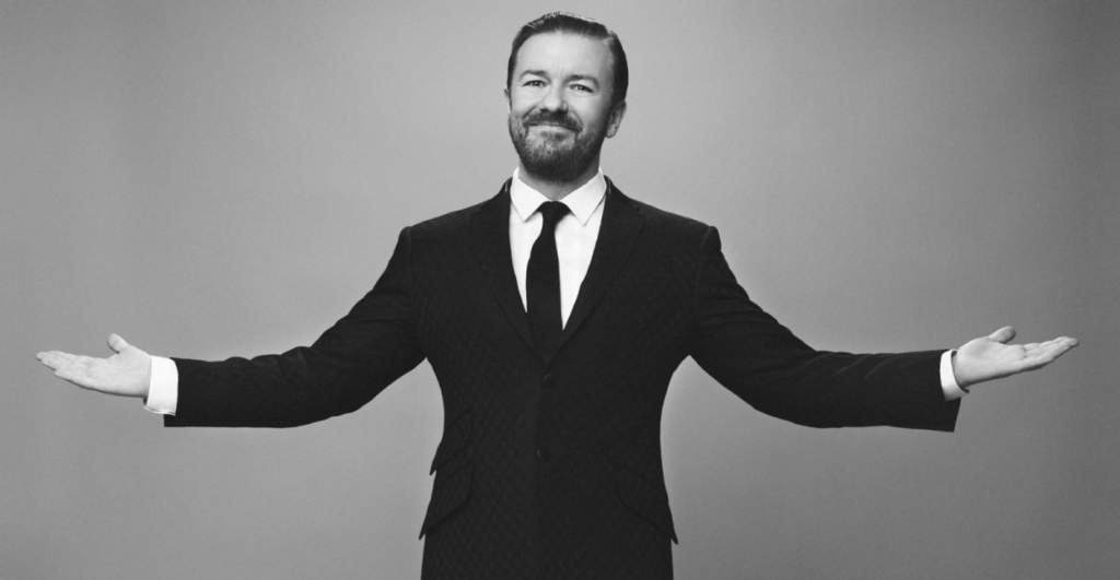 Ricky Gervais by Todd Anthony