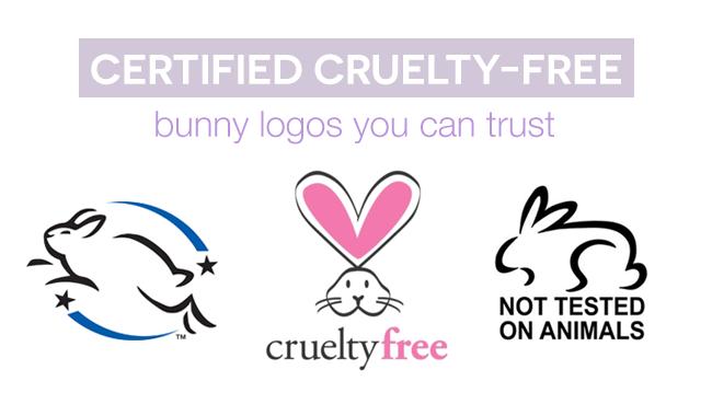 cruelty-free bunny logos