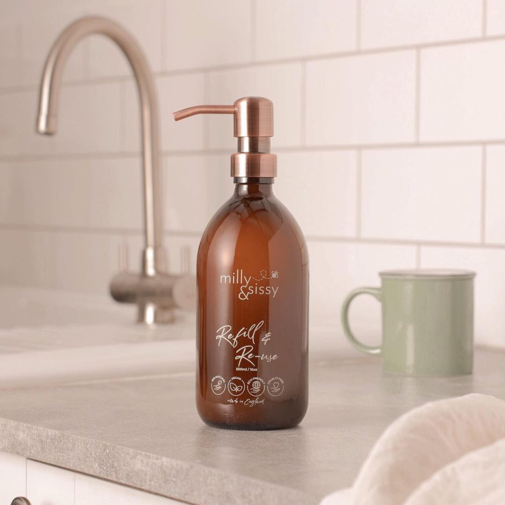 easy eco swaps for a more sustainable lifestyle: health & beauty | bathroom refills