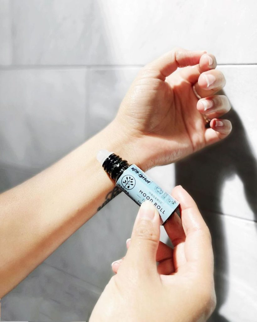 Haoma aromatherapy mood oil   roll onto your wrist